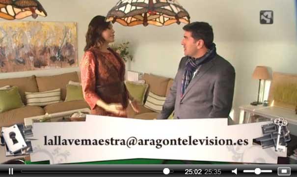 Adra Decoración en Llave Maestra de TV Aragón