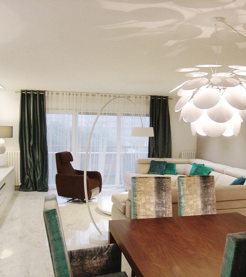 Vivienda en blanco, zgz, Adra decoracion, Felix Bernal Juan 1