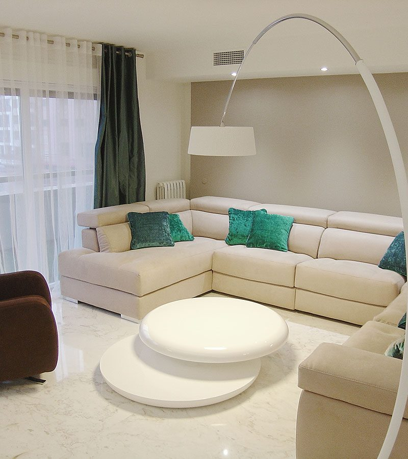 Vivienda en blanco, zgz, Adra decoracion, Felix Bernal Juan 2